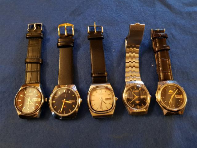Orologi meccanici vintage automatici
