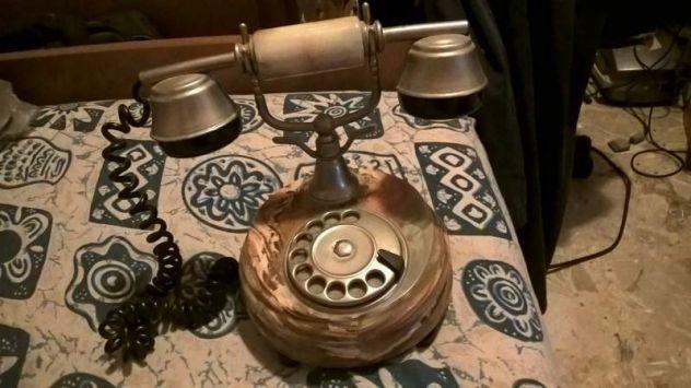 Telefono vintage in marmo siemens mod. ct7712 da controllare