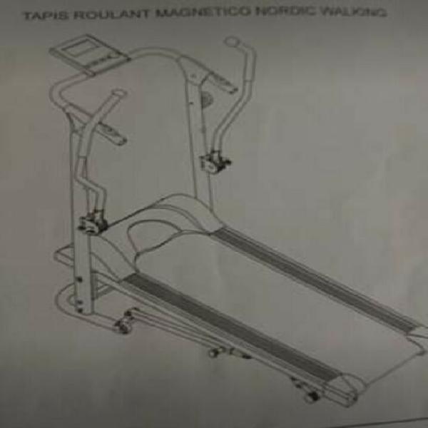 Vendo tapis roulant magnetico