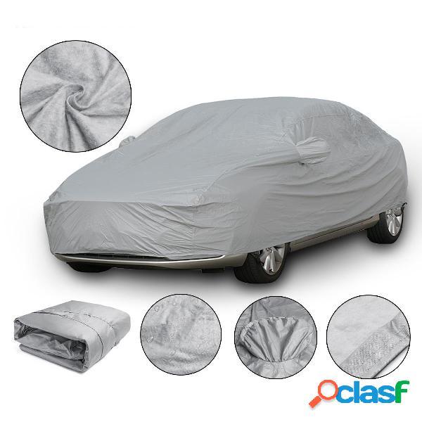 Xl 4.9x1.8x1.5m universale copertura auto completa in cotone impermeabile traspirante protezione uv esterna