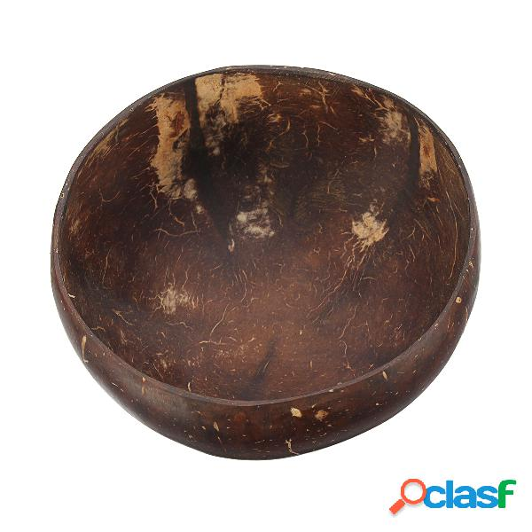 Coconut shell bowl natural coconut shell bowl artigianato creativo ornamenti decorativi