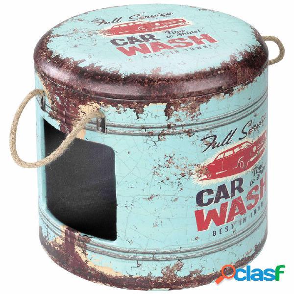 D&d d&d pouf per animali car wash 35x34 cm blu 434/429402