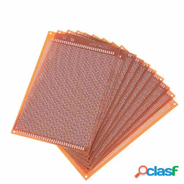 10pcs scheda pcb universale 12x18cm 2,54mm foro passo fai da te prototipo carta circuito stampato pannello bordo unilate