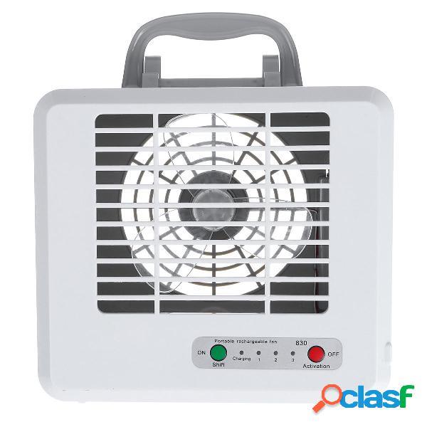 Ventola di raffreddamento ricaricabile ventilatore da tavolo portatile mini usb air cooler conditioner