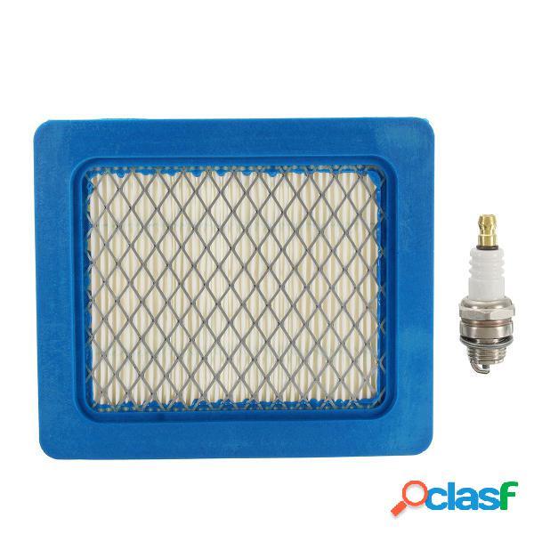 Kit di servizio filtro aria e spina e per honda izy / hrx mowers e gcv 135/160/190