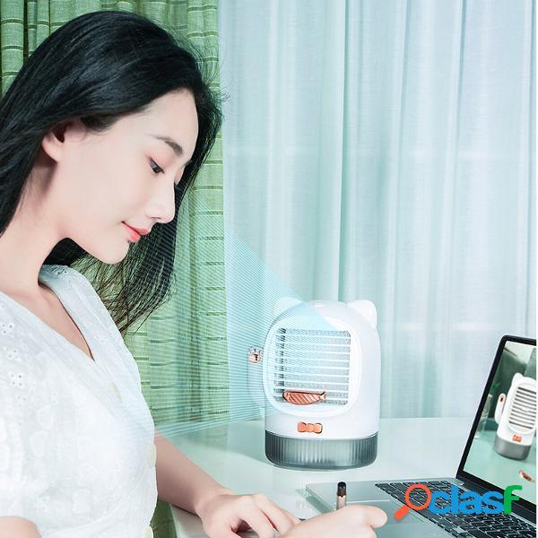 Mini dispositivo di raffreddamento dellaria ricarica usb ventilatore piccolo ventilatore da tavolo per aria condizi