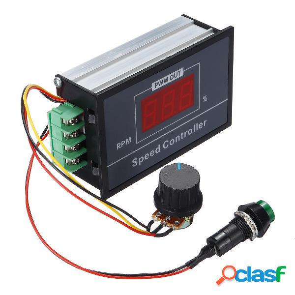 Dc 6-60 v 30a regolatore pwm regolatore regolabile per motori con digitale display