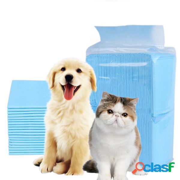 Tappetino per animali domestici monouso super assorbente addestramento pannolino per cani pulizia sana cuscino per cani