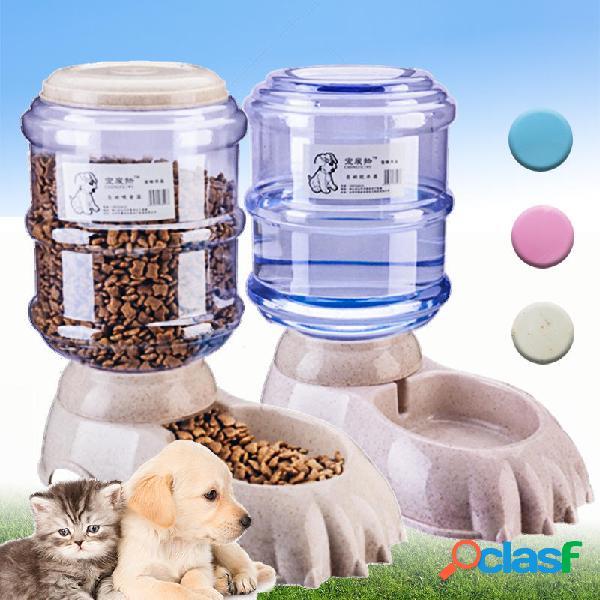 3.8l grande distributore automatico di alimenti per animali domestici distributore di bevande per cani cat waterer water