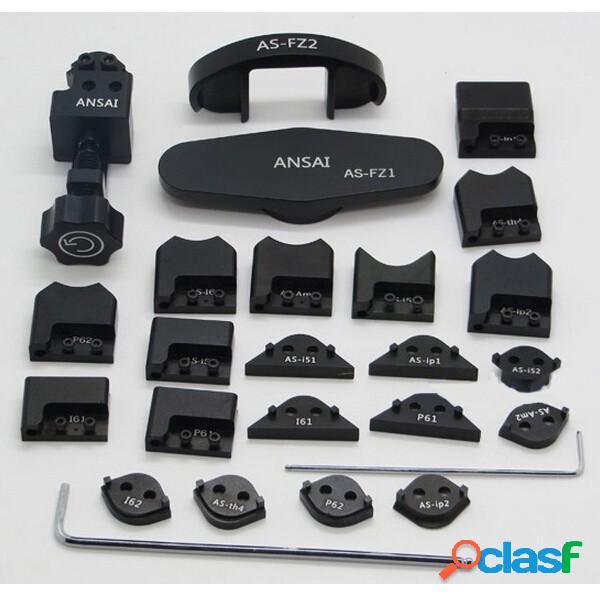 26 in 1 gtools gb1100 icorner kit per ipod ipad iphone 5 5s 6 6s 6plus angolo piegato a fianco insieme strumento di ripa