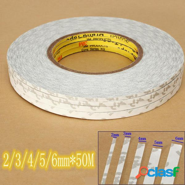 2-6mm e 50m adesivo nastro adesivo estremamente robusto su entrambi i lati per lcd cell phone glass