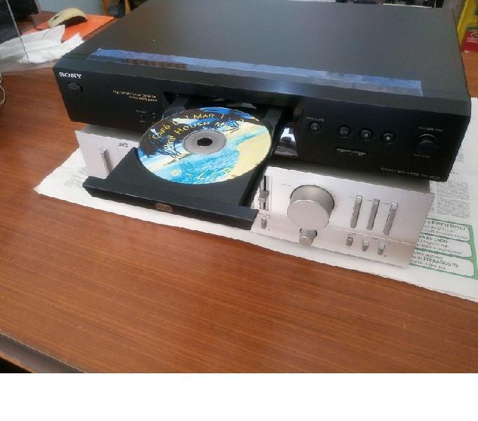 Lettore cd audio hi-fi sony cdp-xe270 uscita digitale