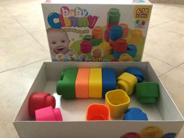 """Mattoncini """"baby clemmy"""" in silicone"""