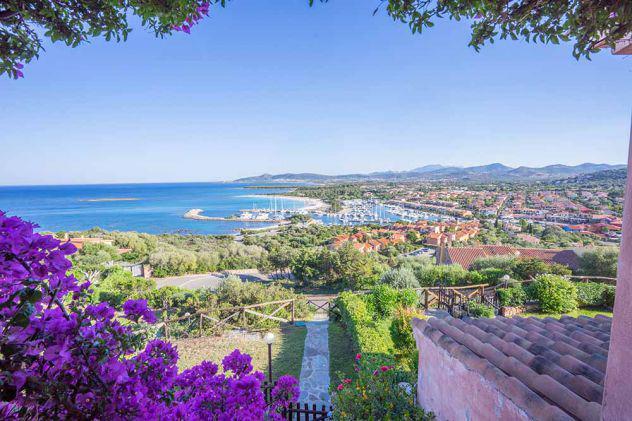 Villa con vista mare a porto ottiolu