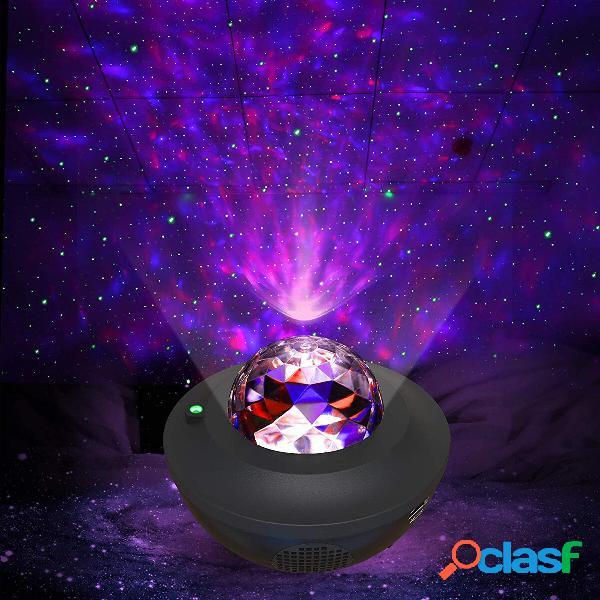 Luce notturna stellata a led galaxy laser proiettore altoparlante musicale ocean star sky lampada