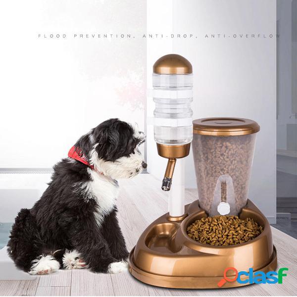 Bevitore automatico di acqua per animali domestici cat dog bowl bowl bottle alimentatore alimentatore dispenser waterer