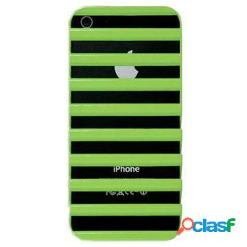 Custodia rigida code ladder per iphone 5, iphone 5s, iphone se - verde