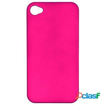 Custodia rigida rivestita njord per iphone 4 / 4s - rosa