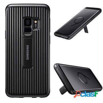 Samsung galaxy s9 protective standing cover ef-rg960cbegww - black
