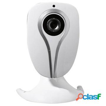 Denver ipc-1020 wi-fi ip security camera - white