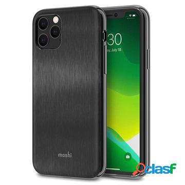 Cover ibrida moshi iglaze slim per iphone 11 pro - nera