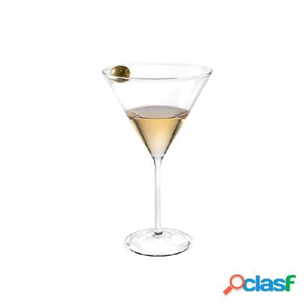 Coppa martini con punzone per olive in vetro soffiato cl 34 - trasparente