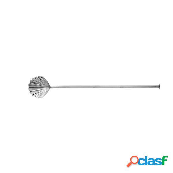 Bar spoon cannuccia conchiglia urban bar in acciaio inox cm 19