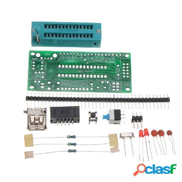 3pcs kit fai-da-te atmega8 atmega48 avr kit scheda di sviluppo minimo del sistema mini suite elettronica in miniatura pa