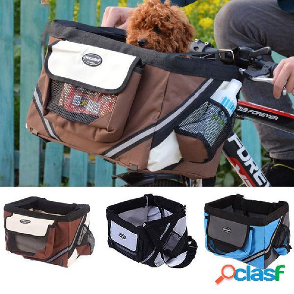Cestini per animali domestici cestino per biciclette cesto per biciclette cestello per biciclette cani per cani