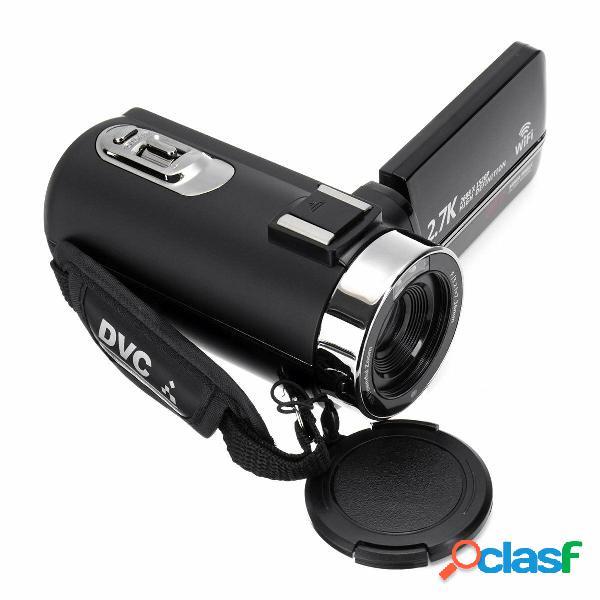 2.7k ultra hd cmos 48mp 18x videocamera digitale con zoom dv e antivibrazioni video fotografica per youtube vlogging