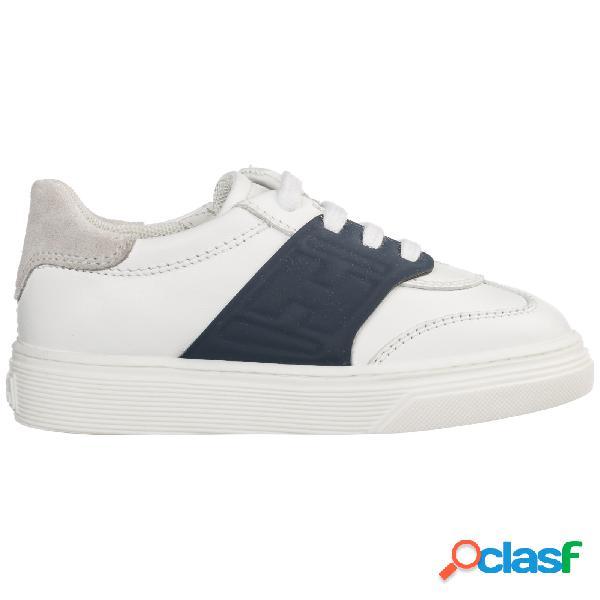 Scarpe sneakers bimbo bambino pelle h365