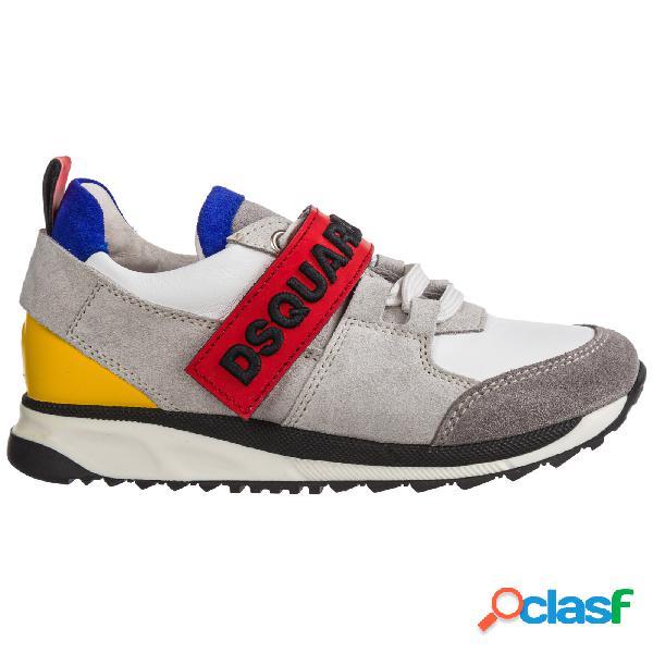 Scarpe sneakers bimbo bambino pelle