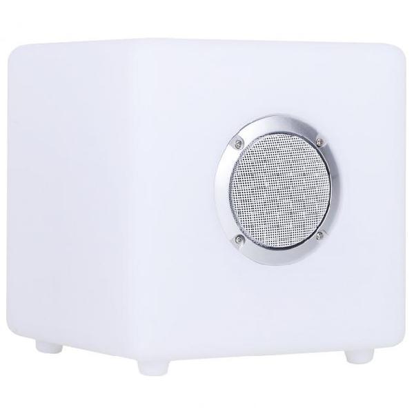 Cassa speaker bluetooth con led 20x20x20 cm impermeabile