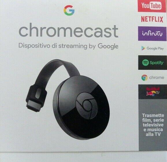 Google chromecast streaming video audio tv wireless