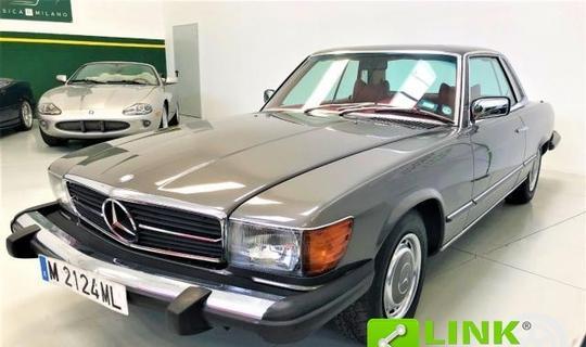 Mercedes - slc 450 - ex silvana mangano & dino de laurentiis