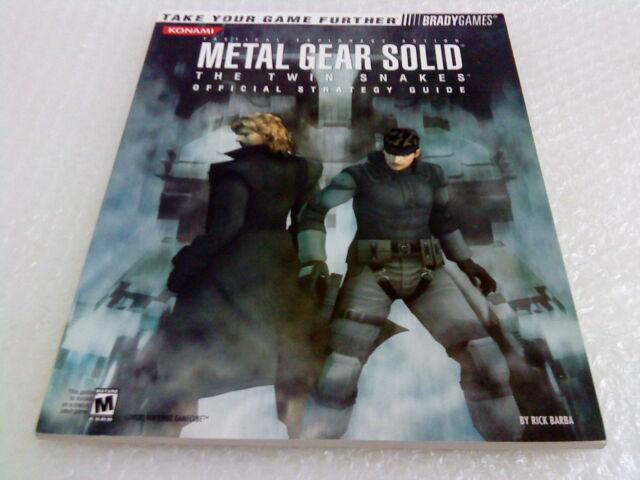 Metal gear solid: the twin snakes libro manuale guida