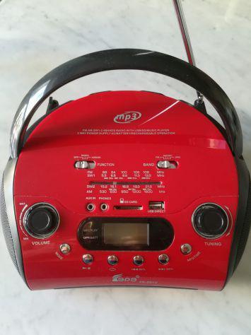 Radio am/fm, usb