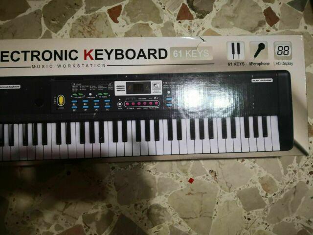 Tastiera elettronica pianoforte a 61 tasti, digitale