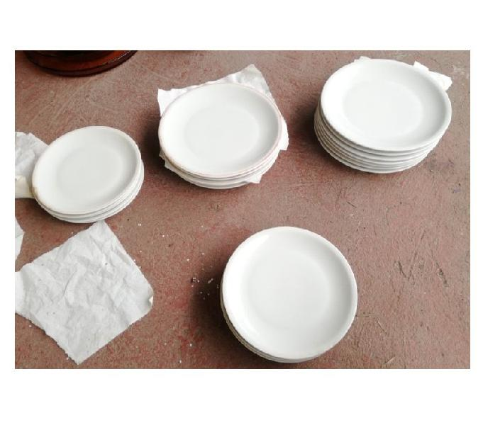 24 piatti in ceramica tognana usati