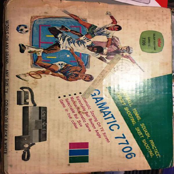 Console giochi gamatic 7706 in ottime condizioni