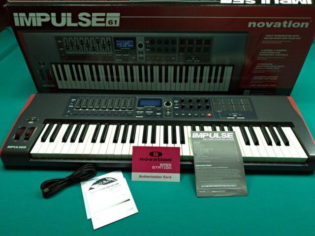 Novation impulse 61 + supporto tastiera