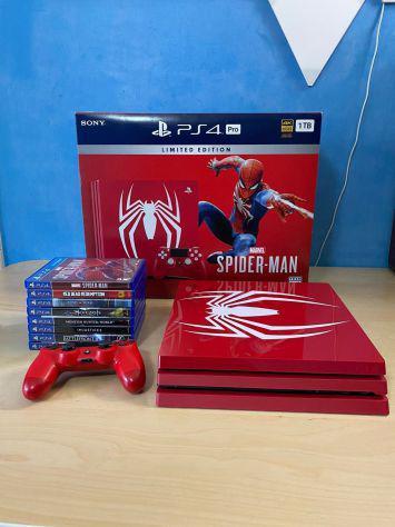 Ps4 pro Spiderman Edizione limitata.