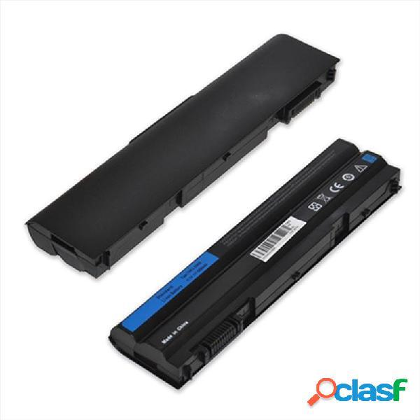Batteria color nero per dell t54fj, e5420 li-ion 5200 mah