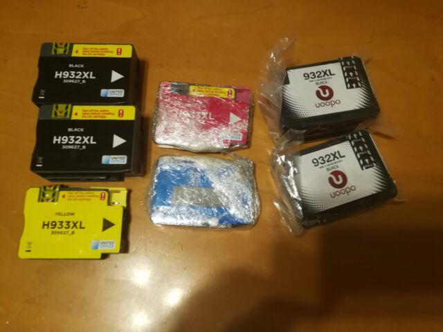 7 Cartucce 932/933 stampante HP Compatibili NUOVE