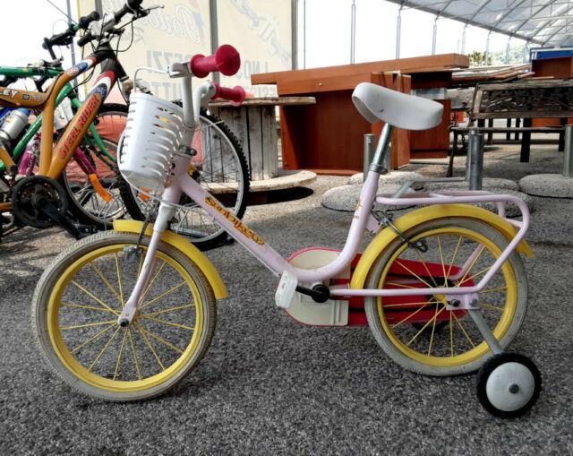 Bicicletta con rotelle marca sunbike misura xs