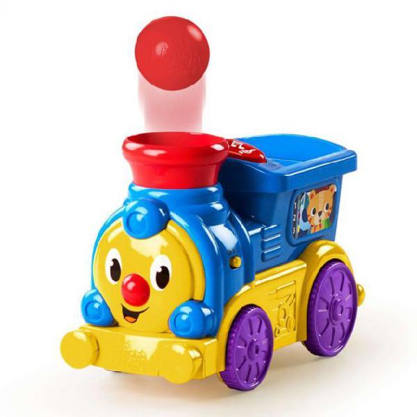 Bright Starts Gioco Attività Roll & Pop Train K10308