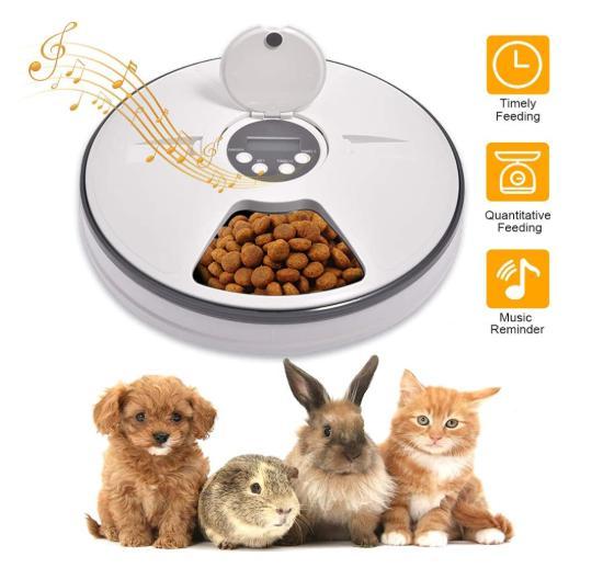 Ciotola distributore automatico lacyie cibo gatti e cani