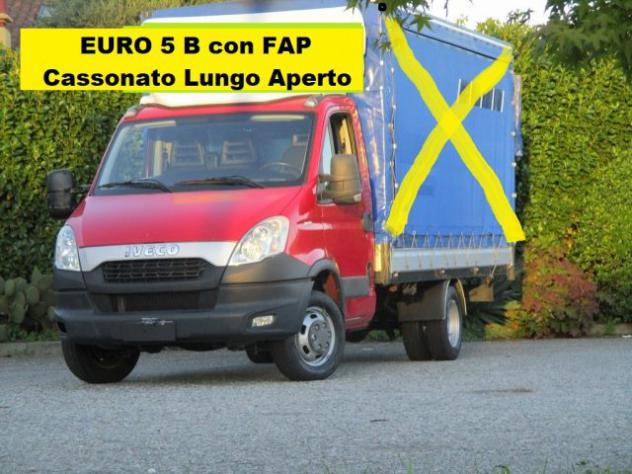 IVECO Daily 35C15 3.0 CASSONATO LUNGO rif. 13464572