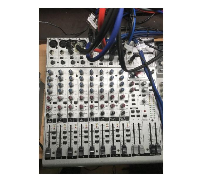 Mixer da studio behringer eurorack-ub1622fx-pro