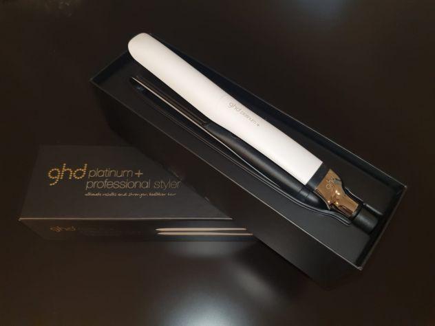 Piastra per capelli GHD Platinum Plus White Styler
